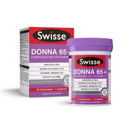 SWISSE MULTIVITAMINICO DONNA 65+