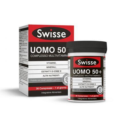 SWISSE MULTIVITAMINICO UOMO 50+